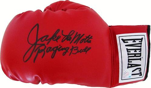 """Jake LaMotta """"Raging Bull"""" Signed Boxing Glove"""