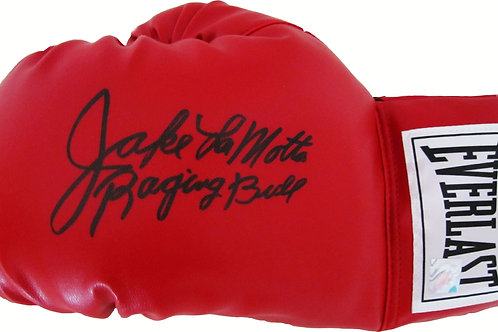 "Jake LaMotta ""Raging Bull"" Signed Boxing Glove"