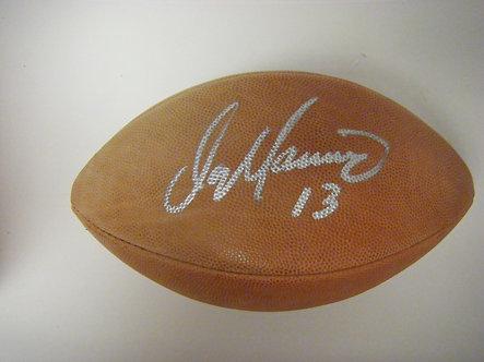 Dan Marino Autographed Football with UDA Box