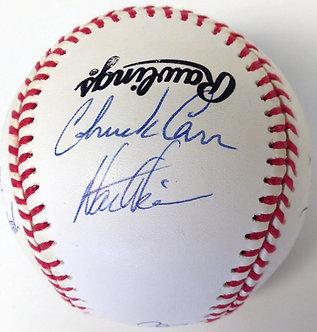 1993 Florida Marlins Autographed Baseball