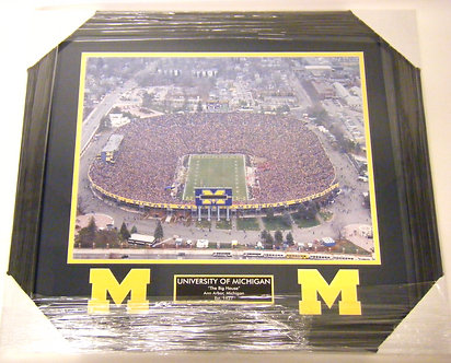 "Michigan Stadium ""The Big House"" Framed Photo"