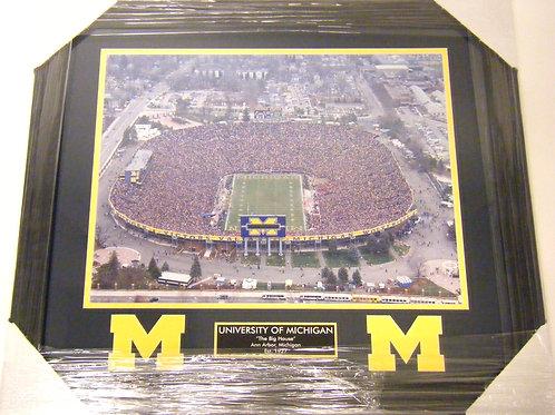 "Michigan Stadium ""The Big House"" Framed Photo"