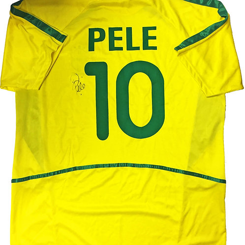 Pelé Signed Brazilian National Team Jersey