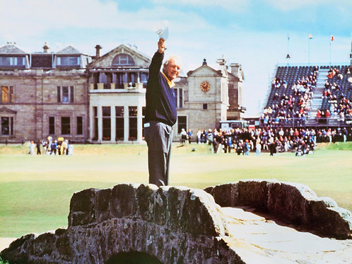 Arnold Palmer - Farewell to St. Andrews Photo
