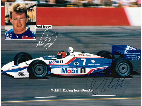 Paul Tracy Autographed Photo