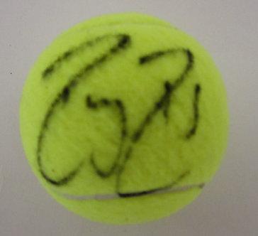 Roger Federer Signed Tennis Ball