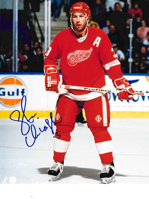 Steve Chiasson Autographed Picture