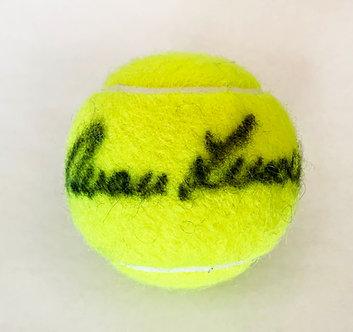Ivan Lendl Signed Tennis Ball