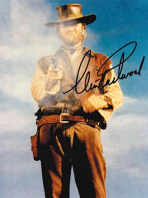 Clint Eastwood Signed 8x10 Photo