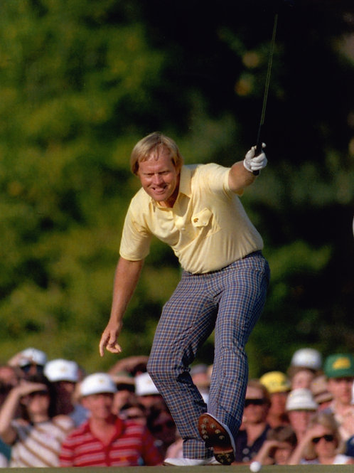 Jack Nicklaus - 1986 Masters - 16x20 Photo