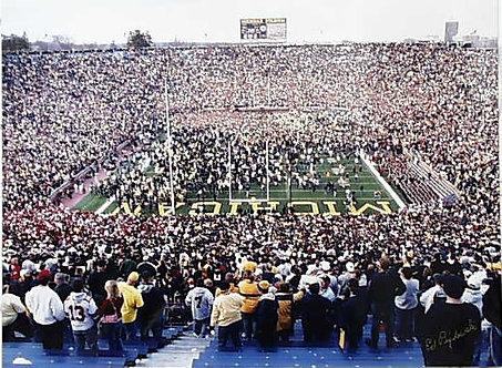 Michigan-Ohio State 100th Game Photograph - 2003