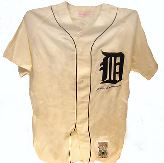 """Charlie """"Chas"""" Gehringer Autographed Jersey"""