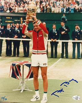 Bjorn Borg - Signed 8x10 Photo - 1980 Wimbledon