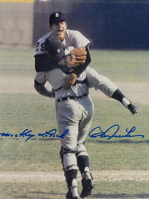 Mickey Lolich and Bill Freehan Autographed Photo
