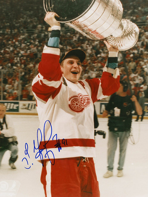 Sergei Fedorov Signed 8x10 Photo - '97 Stanley Cup