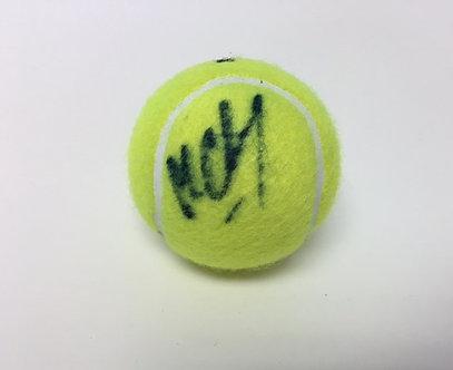 Michael Chang Signed Tennis Ball