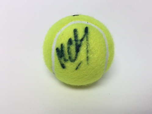 Michael Chang Signed Tennis Ball