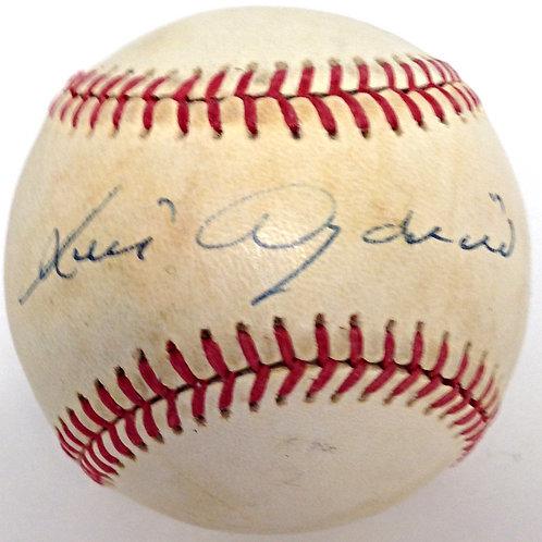 Luis Aparicio Autographed Baseball