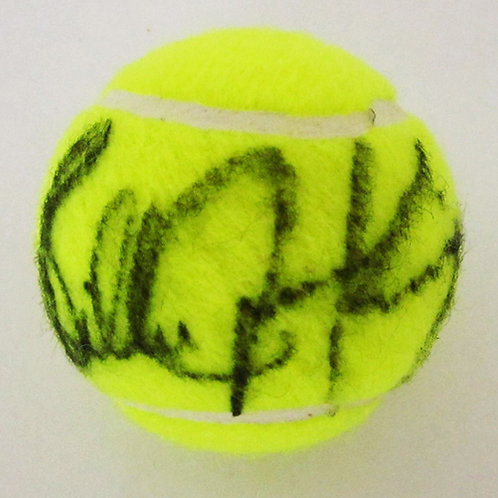 Billie Jean King Signed Tennis Ball