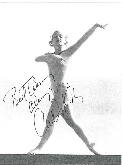 Cathy Rigby Best Wishes Autographed Photo