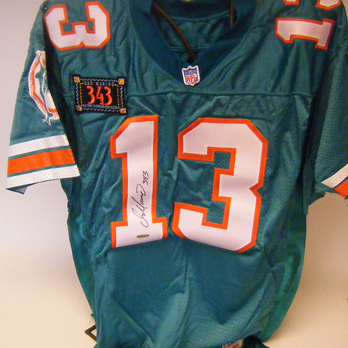Dan Marino Autographed Dolphins Jersey