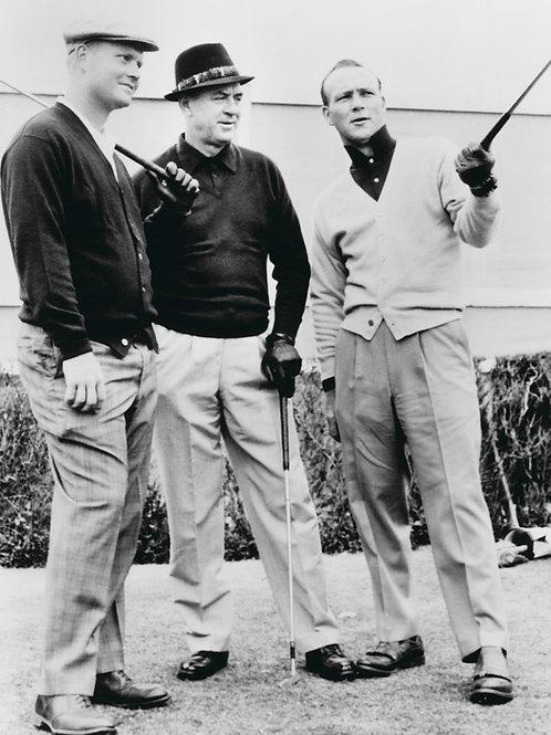 Nicklaus, Snead, & Palmer - 1962 British Open