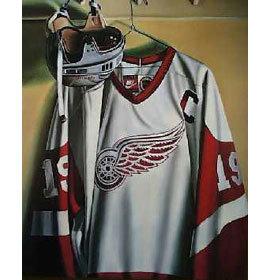 Steve Yzerman Detroit Red Wings Lithograph
