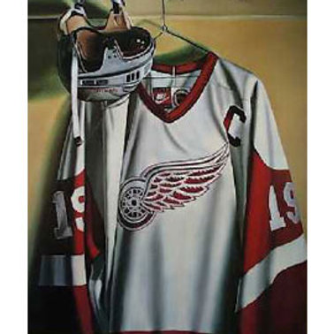 Steve Yzerman Detroit Red Wings Lithograph
