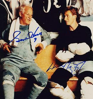 Gordie Howe Wayne Gretzky - Signed 8x10 Photo
