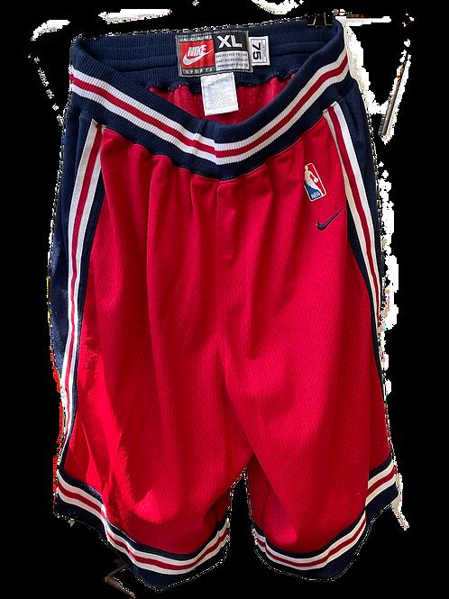 1975 Throwback Pistons Shorts