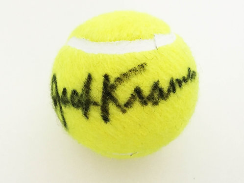 Jack Kramer Signed Tennis Ball