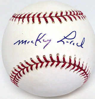 Mickey Lolich Autographed Baseball