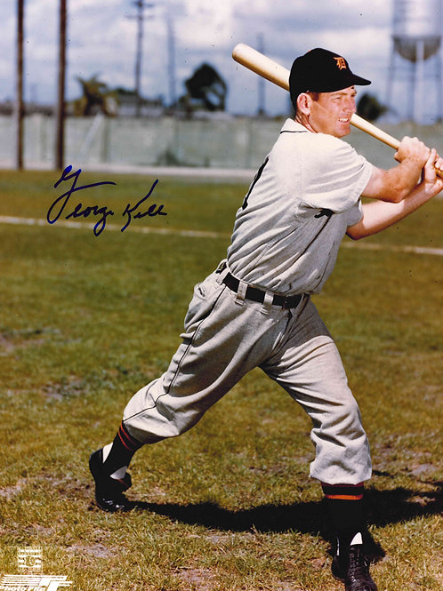 George Kell Autographed Picture