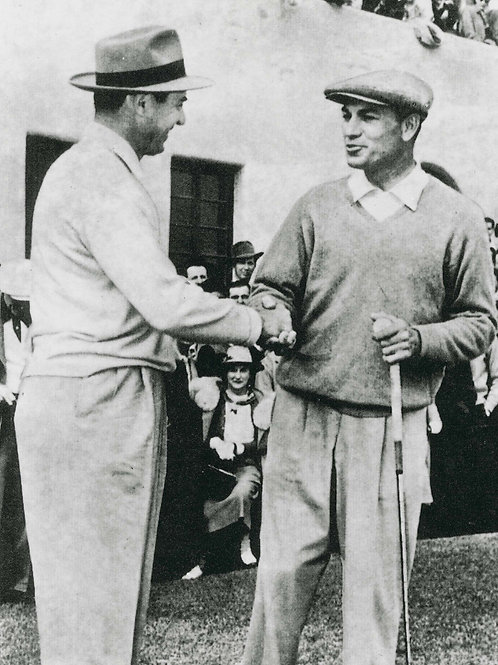 Ben Hogan & Sam Snead - 1950 L.A. Open