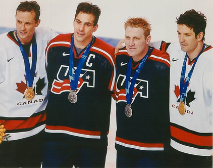 Detroit Red Wings in 2002 Olympic Gold Medal Game