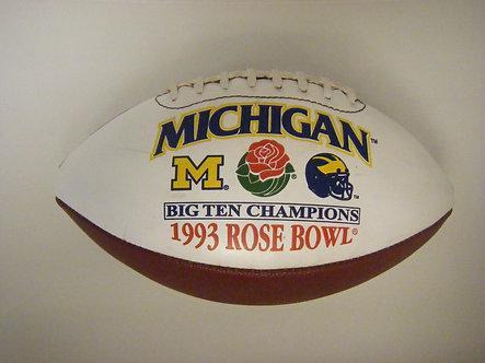 1993 Rose Bowl University of Michigan Football