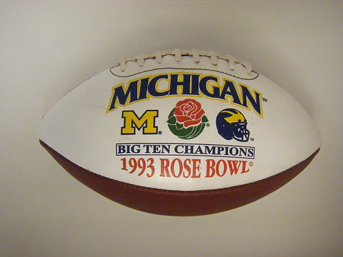 1993 Rose Bowl University of Michigan Football