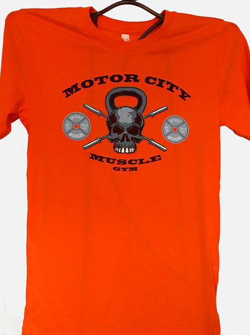 Orange Unisex Logo T-Shirt