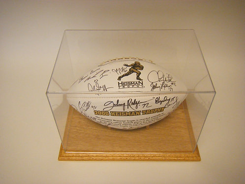 2000 Heisman Trophy Winners Autographed Ball