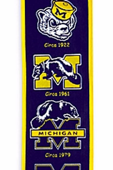 University of Michigan Wolverines Heritage Banner