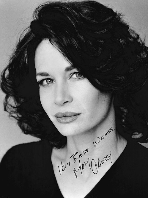 Mary Crosby Autographed 8x10 Photo