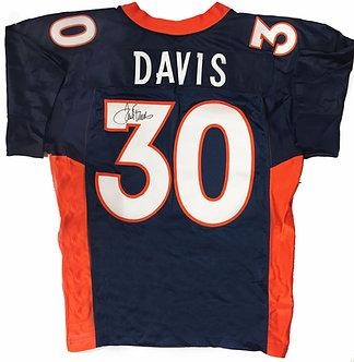 Terrell Davis Signed Denver Broncos Jersey