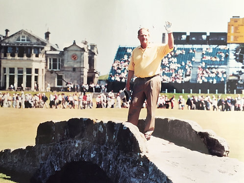 Jack Nicklaus - Farewell to St. Andrews Photo