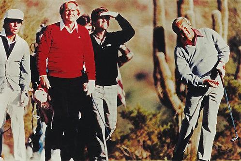 Floyd, Nicklaus, Watson, Palmer - 1983 Skins Game