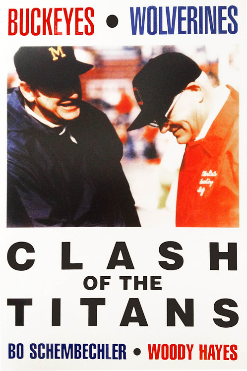Bo Schembechler, Woody Hayes - Clash of the Titans