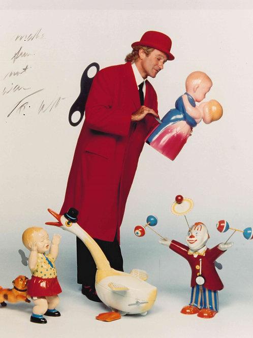 Robin Williams Autographed Toys 8x10 Photo