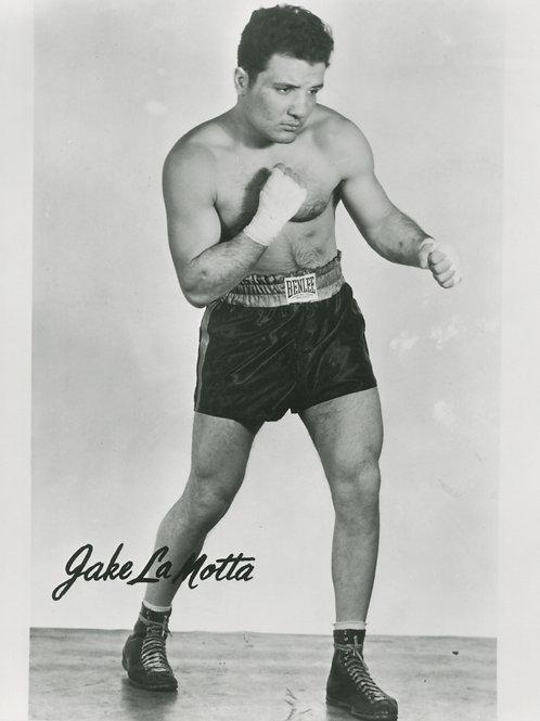 Jake LaMotta 8x10 Photograph