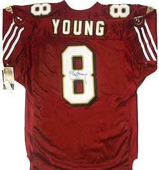 Steve Young Signed 49ers Jersey