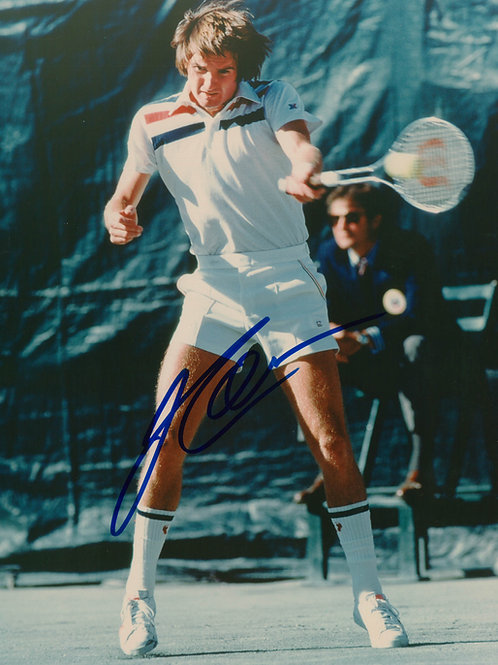 Jimmy Connors - Signed 8x10 Photo - Forehand