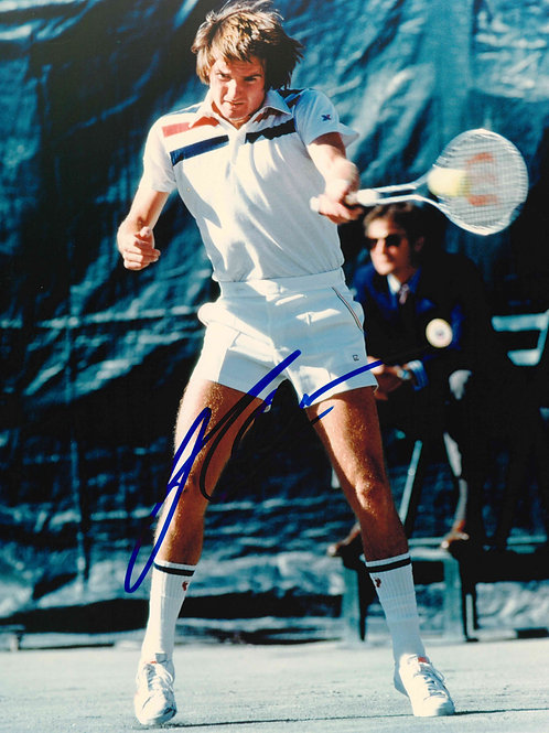 Jimmy Connors Autographed Photo